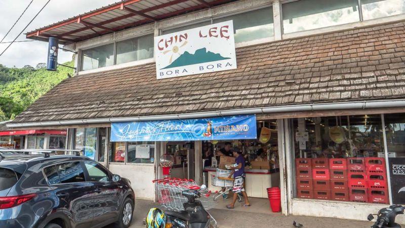 Chin Lee Supermarkt Bora Bora