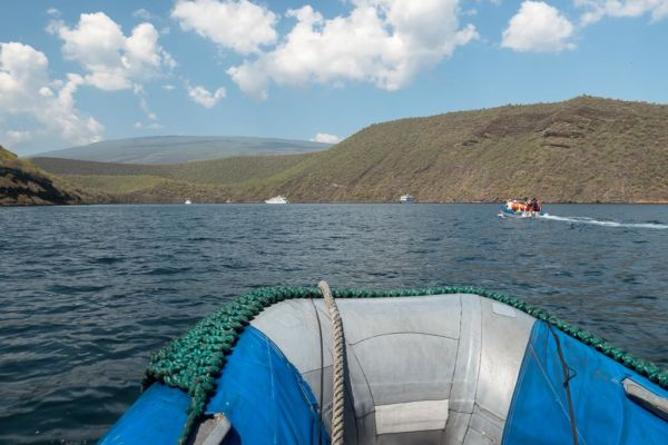 Zodiac Schlauchboot Galapagos Cruise Ausflug