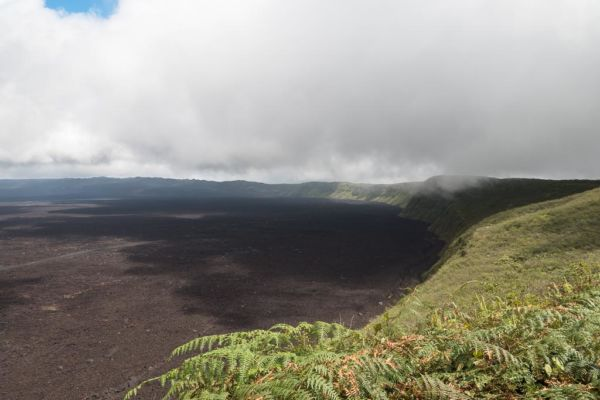 Sierra Negra Vulkanwanderung Insel Isabela Galapagos Cruise