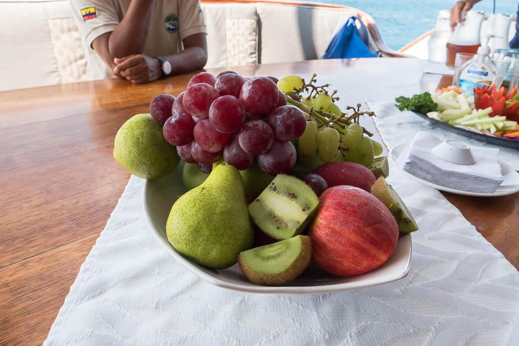 Snacks Galapagos Cruise