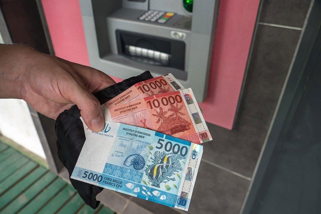 Geld und Währung Französisch Polynesien