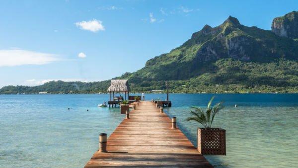 Bora Bora Reisekosten Bericht - Mount Otemanu