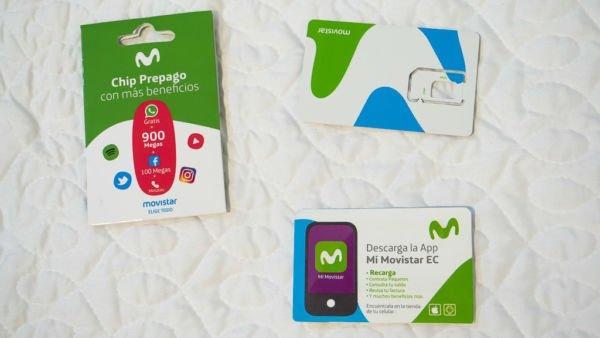 mobiles Internet Ecuador Movistar SIM-Karte
