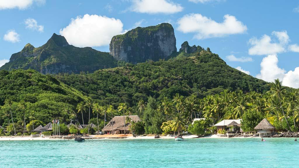 Natur Paradies Bora Bora
