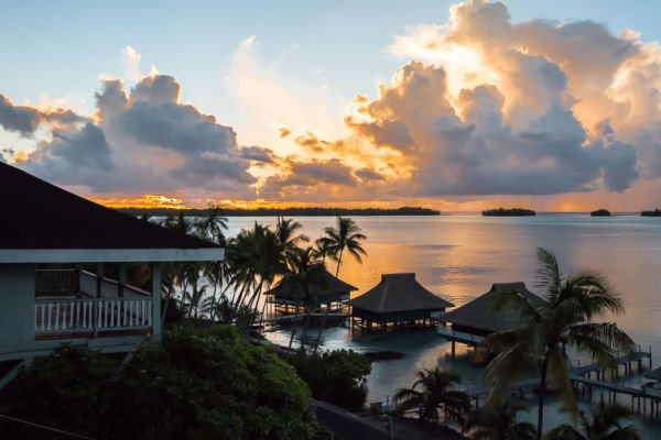 Sonnenuntergang Bora Bora