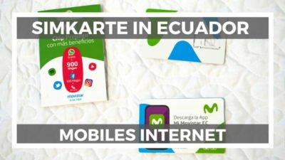 beste Ecuador SIM-Karte