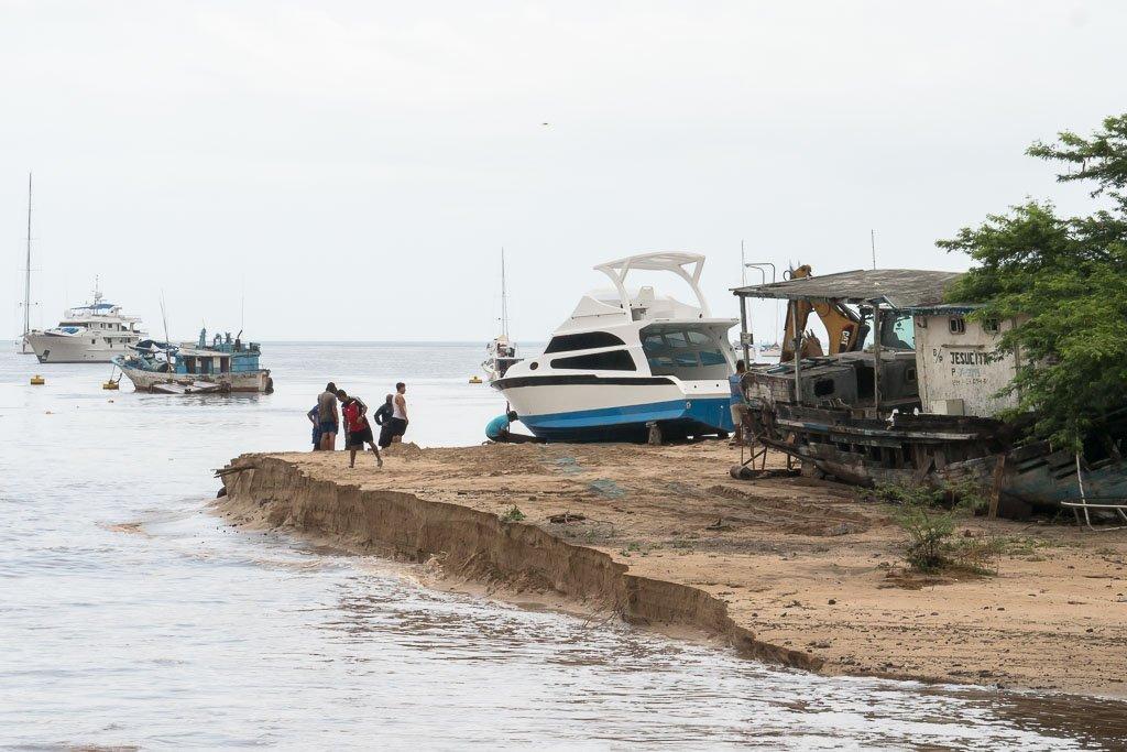 Regen Galapagos Sandbank