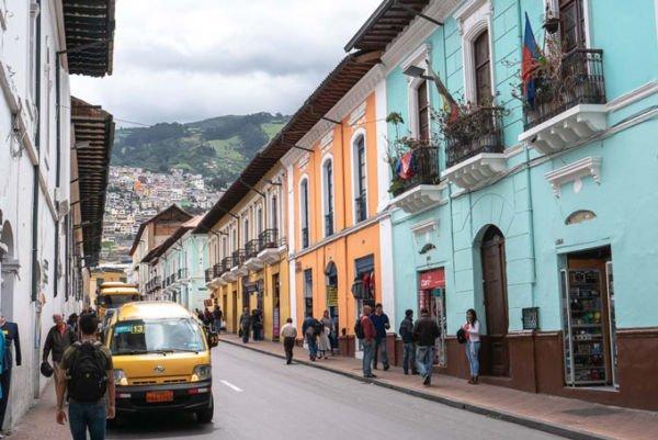 Collectivo Ecuador Sammeltaxi
