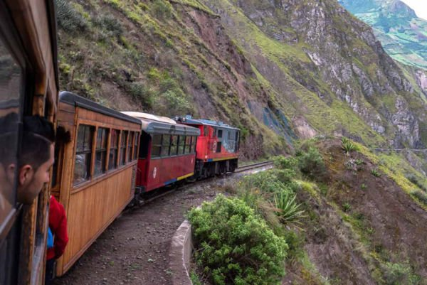 Zugreise Ecuador
