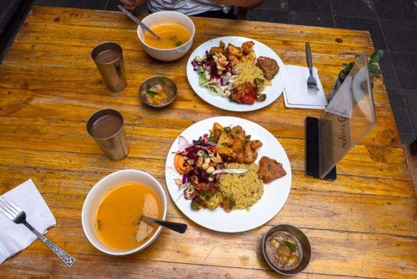 veganes Essen bestellen Ecuador Spanisch
