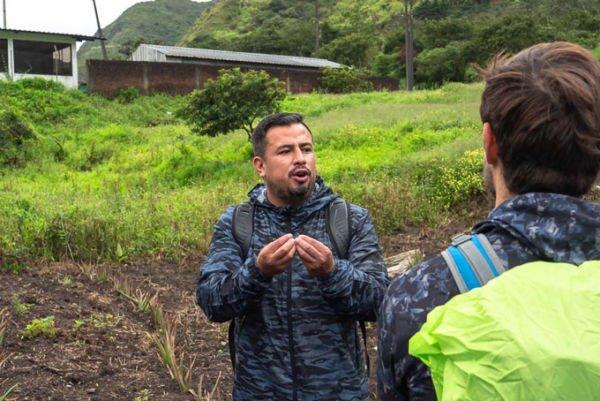 Spanisch Ecuador Einheimische Kontakt