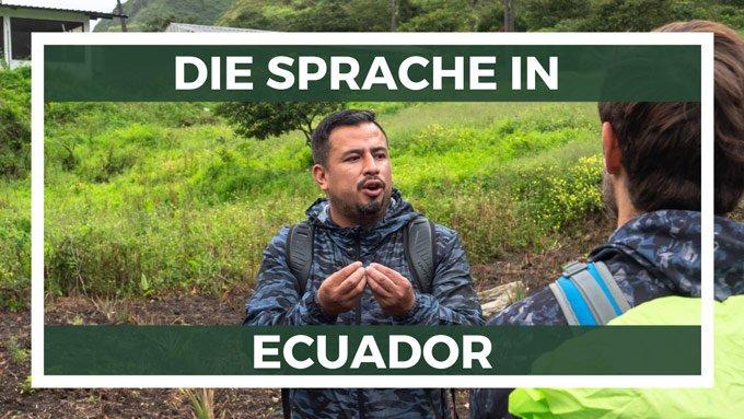 Ecuador Sprache Spanisch