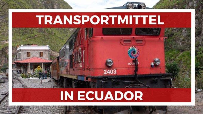 Ecuador Transportmittel