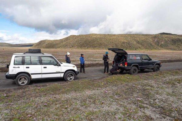 Ecuador Mietwagen Probleme