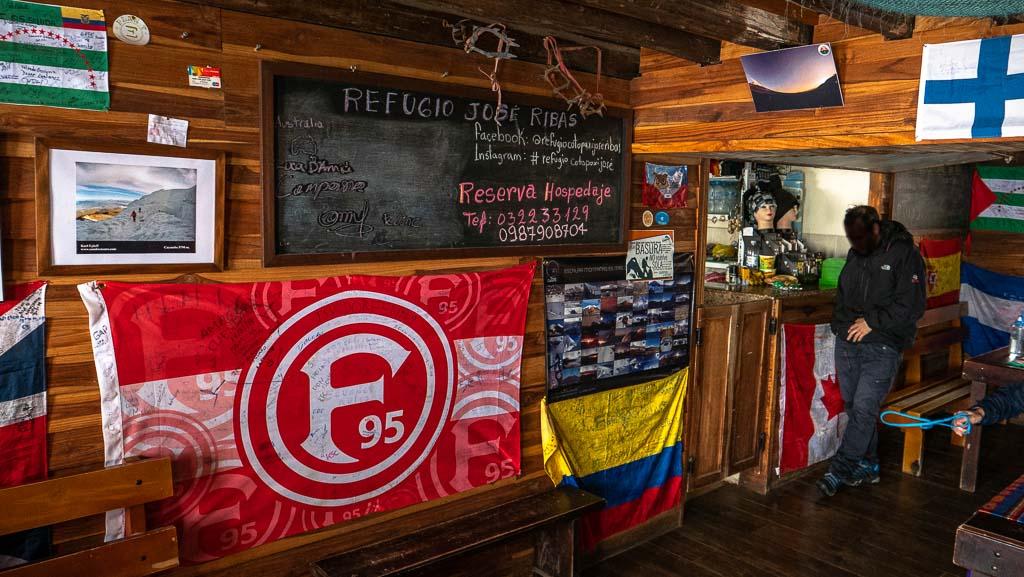 Cotopaxi Refugio 4864 Meter Höhe