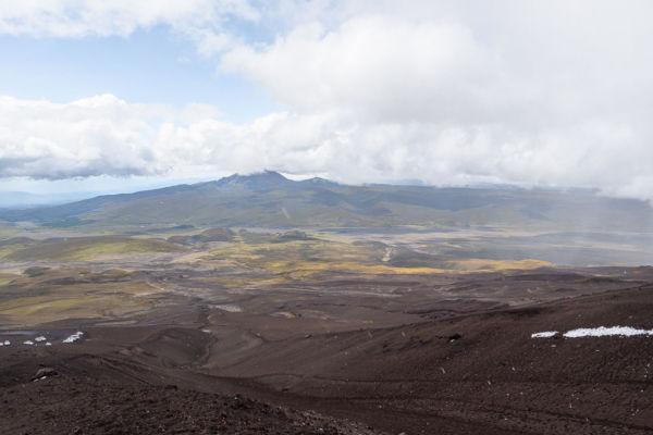 Cotopaxi Vulkan Wanderung Cotopaxi Nationalpark Aussicht