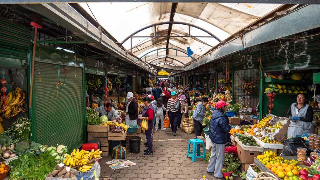 Lokaler Markt Machachi