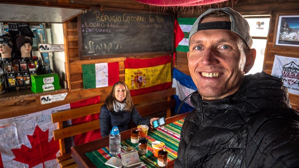 Cotopaxi Nationalpark Refugio Unterschlupf