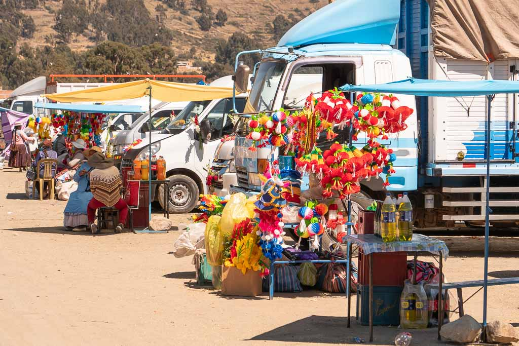 Fest Copacabana Bolivien
