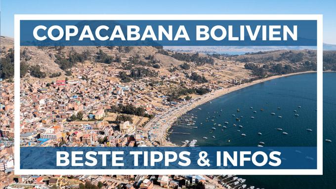 Copacabana Bolivien Tipps