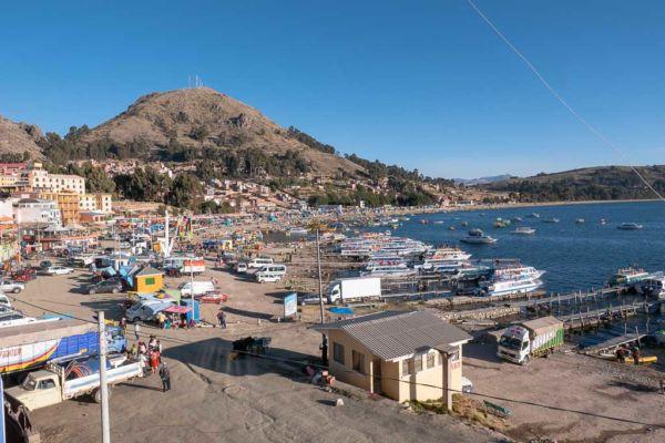Copacabana Bolivien Titicacasee