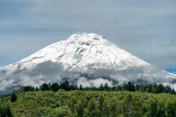 Ecuador Route Cotopaxi Vulkan