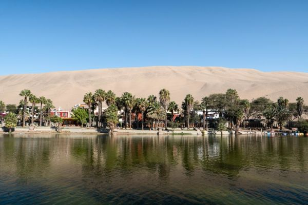 Huacachina Oase Highlight Peru