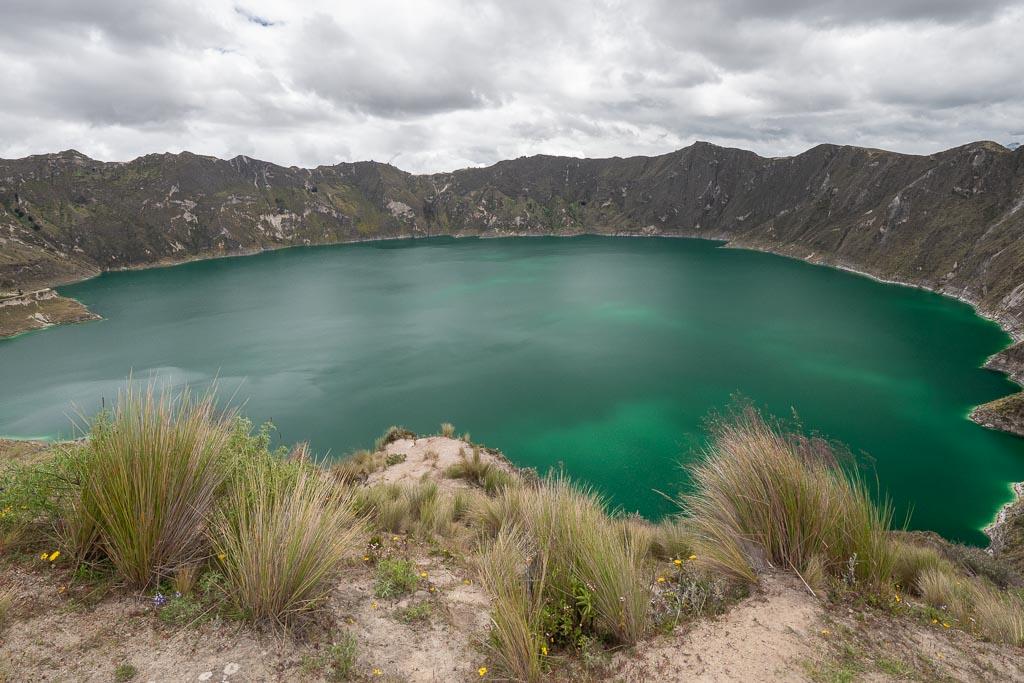 Quilotoa Laguna Ecuador