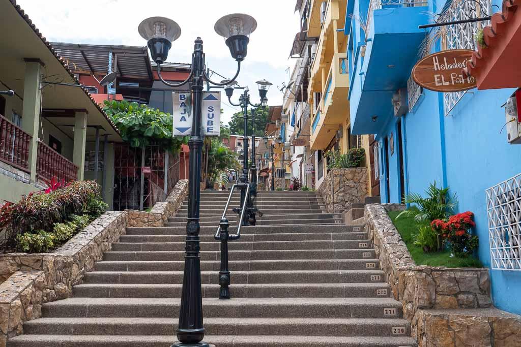 Guayaquil Treppen Santa Ana