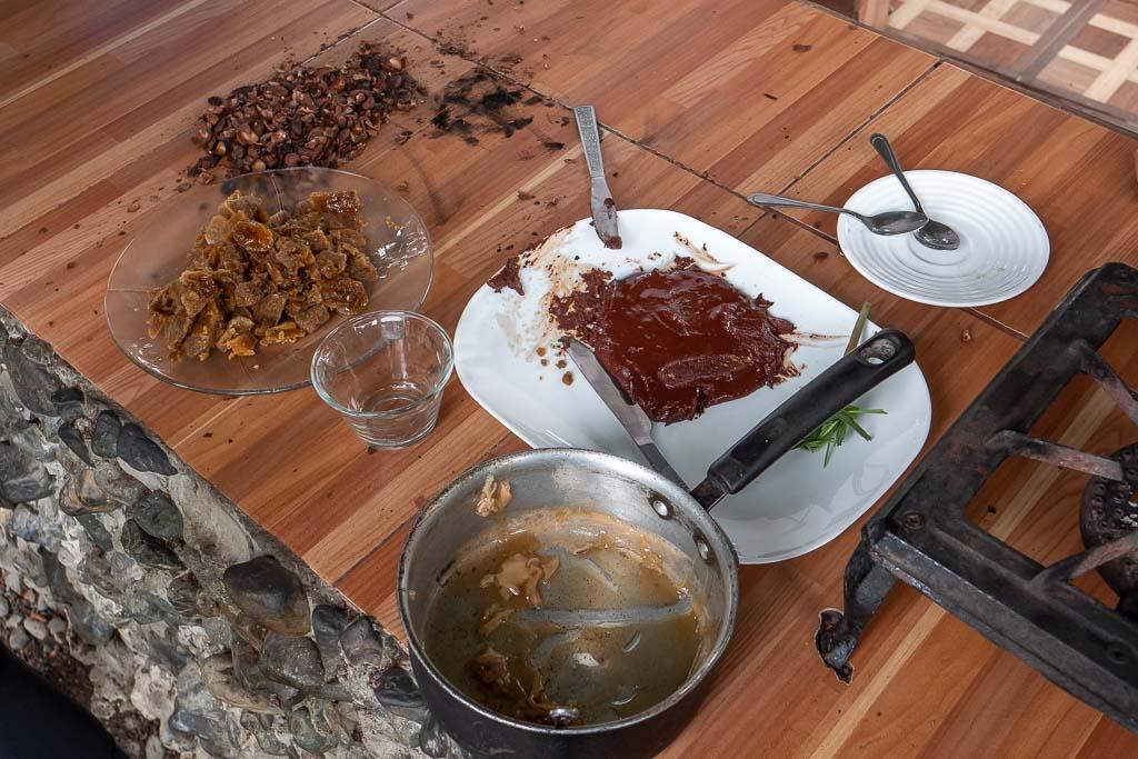 Schokoladenherstellung Ecuador Kakao-Farm