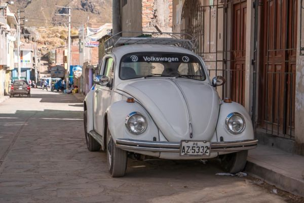 VW Käfer Peru Cabanaconde