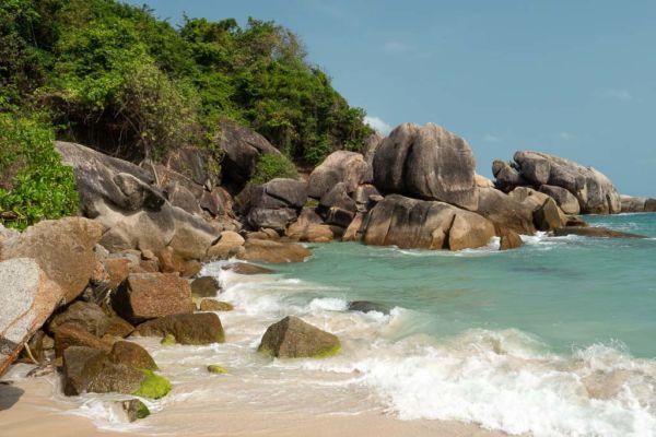 Koh Samui Strand Silver Beach Crytal Bay