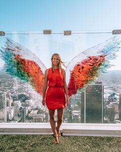 OUE Skyspace LA Angel Wings Colette Moller Los top Angeles Sehenswürdigkeiten
