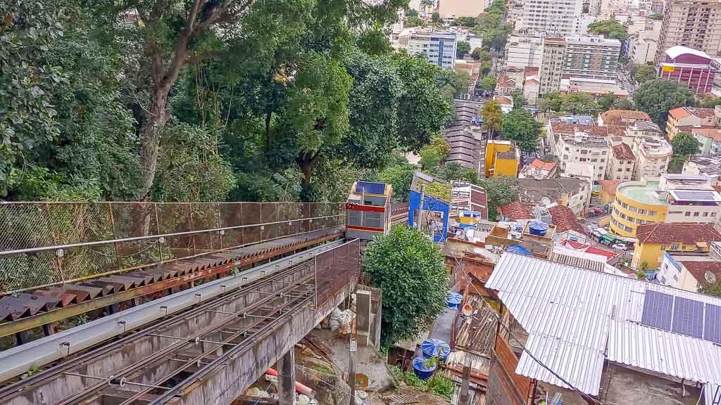 Santa Marta Favela Aufzug