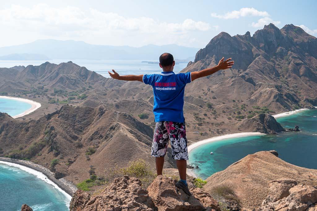Aussicht Padar Island Wanderung