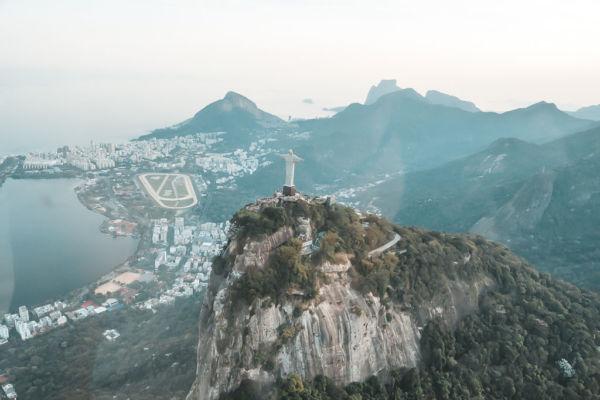 Christus Statue Helikopter Rundflug Rio de Janeiro Sehenswürdigkeiten