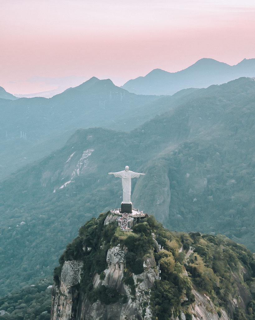 Christus Statue Rio de Janeiro Helikopter Rundflug