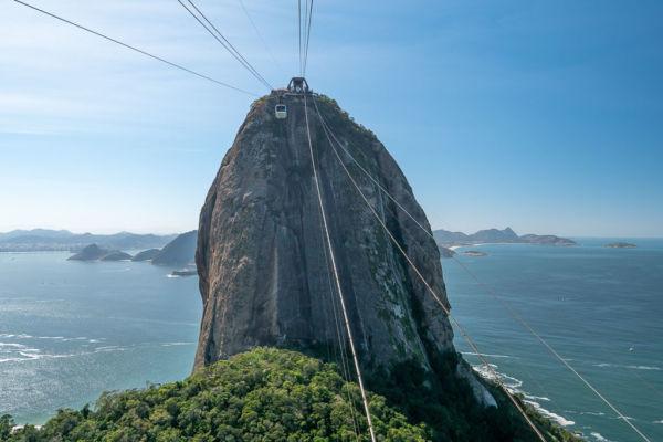Der Zuckerhut in Rio de Janeiro