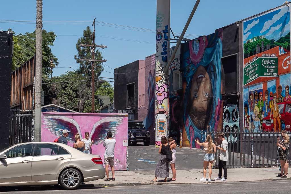 Angel Wings Melrose Avenue Los Angeles Sehenswürdigkeiten