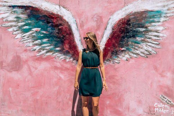 Angel Wings Colette Miller Los Angeles Sehenswürdigkeit