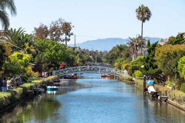 Venice Kanäle Los Angeles Sehenswürdigkeiten