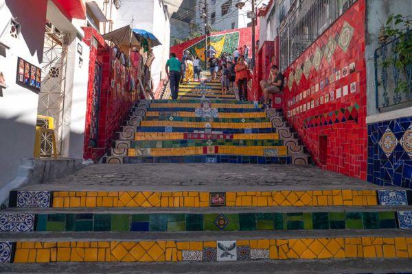 Escadaria Selaron Rio de Janeiro Sehenswürdigkeit