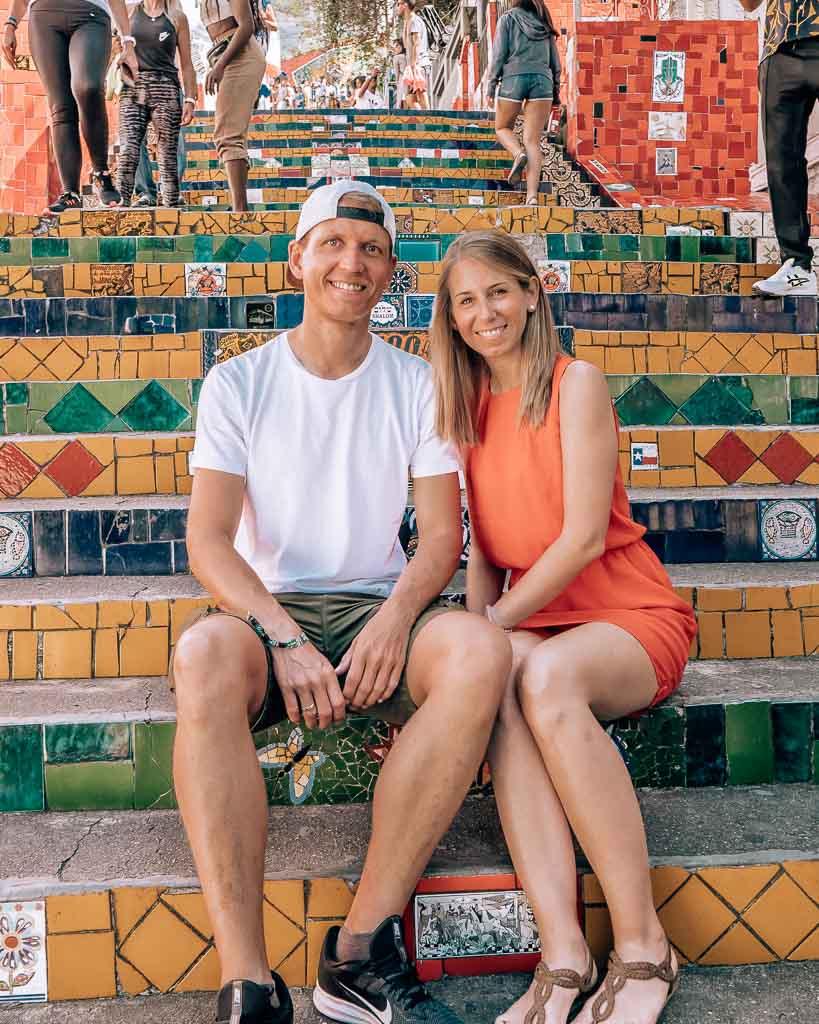 Foto Escadaria Selaron in Rio de Janeiro