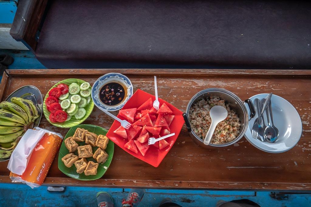 Komodo Nationalpark Tour Frühstück