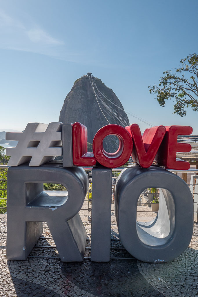 Zuckerhut I Love Rio Morro da Urca