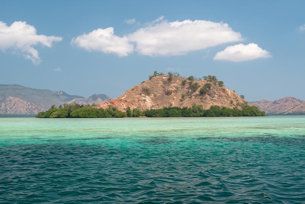 Insel auf Rinca Island Tour im Komodo Nationalpark