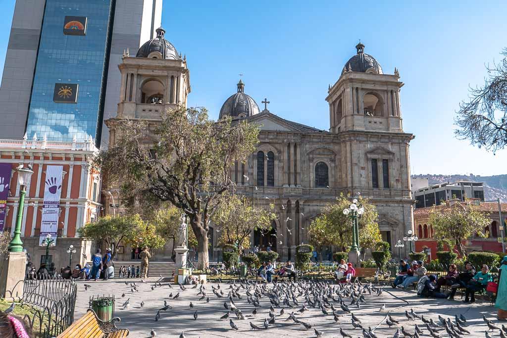 Kathedrale von La Paz Sehenswürdigkeit