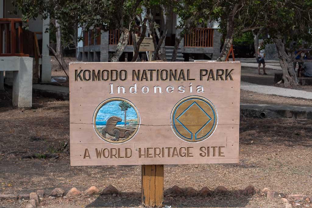 UNESCO Weltkulturerbe Komodo Nationalpark