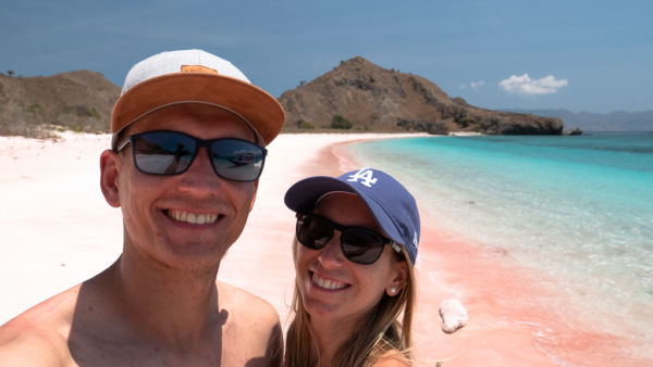 Pink Beach Komodo Nationalpark Tour