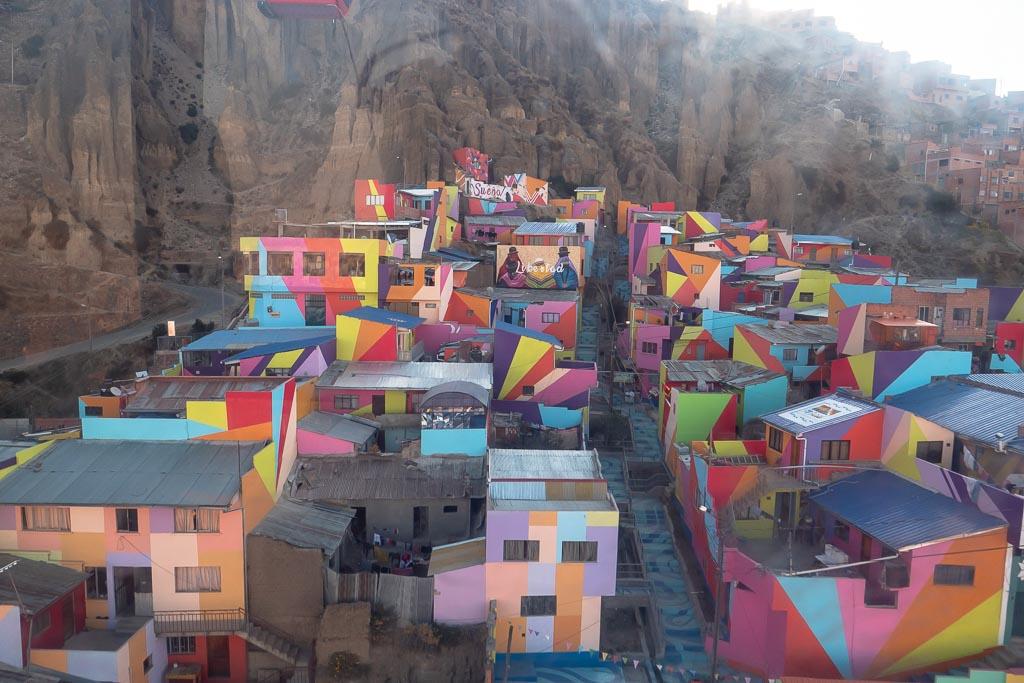 La Paz Seilbahn Fahrt Aussicht